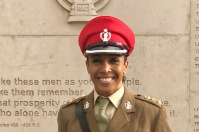 Colonel Dame Kelly Holmes